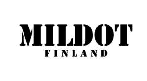 MilDot Filand logotype 300x150px