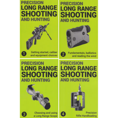 Precision long range shooting 1+2+3+4  by Jon Gillespie-Brown