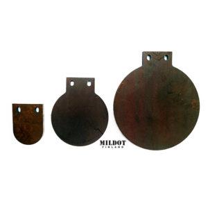 MilDot Metallimaalitaulu 10cm