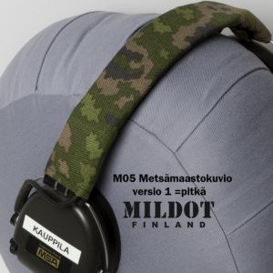 M05 maastokuviollinen päällyskangas Sordin Supreme Pro-X