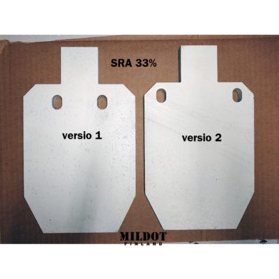 Metallimaalitaulu: Mini SRA  33%-kokoinen – MILDOT
